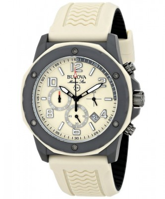 Bulova Marine Star Chronograph 98B201 Mens Watch